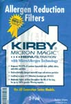 Kirby Bags Allergen Reduction HEPA Filtration Bags 205803