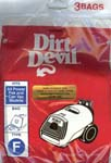 Dirt Devil Type F Bags