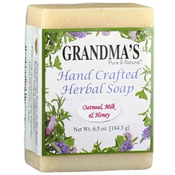 Grandmas Oatmeal Milk and Honey Herbal Soap