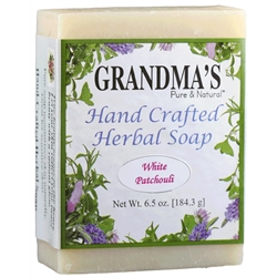 Grandmas White Patchouli Herbal Soap
