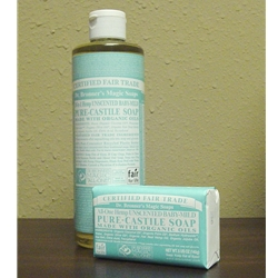 Dr. Bronner Pure-Castile Soap (Baby-Mild)
