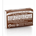 Pure Castile Bar Soap Eucalyptus