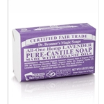 Pure Castile Bar Soap Lavender