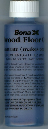 Bona Hardwood Floor Cleaner Concentrate