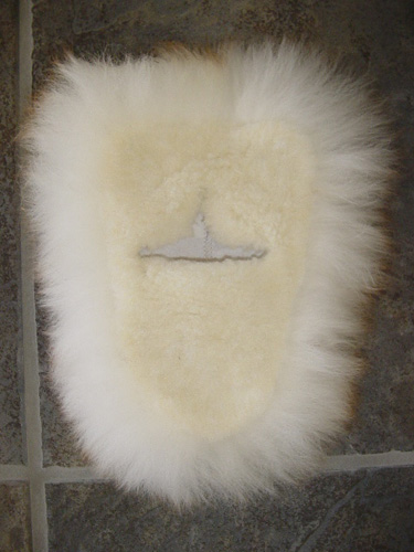 Lambswool Dust Mop Wedge Style Replacement Head