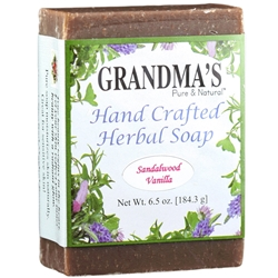Grandmas Sandalwood Vanilla Herbal Soap