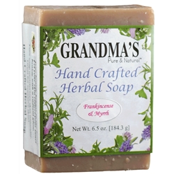 Grandmas Frankincense and Myrrh Herbal Soap