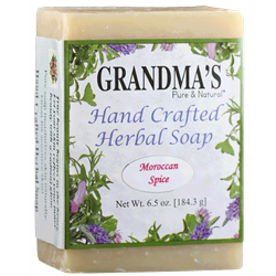 Grandmas Moroccan Spice Herbal Soap