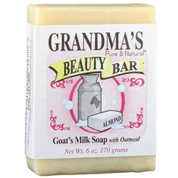 Grandmas Almond Beauty Bar
