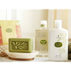 Thymes Olive Leaf Bath and Body Collection