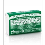 Pure Castile Bar Soap Almond