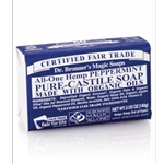 Pure Castile Bar Soap Peppermint