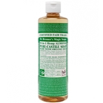 Liquid Castile Soap 16oz Almond