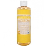 Dr Bronner's Pure Castile Soap Bar Citrus Orange
