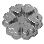 Conversation Hearts Baking Pan