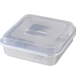 Square Cake Pan with Lid