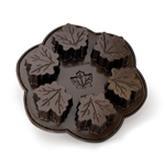 Maple Leaf Cakelet Pan