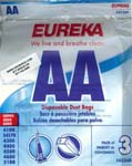 Eureka Style AA Disposable Dust Bags 58236