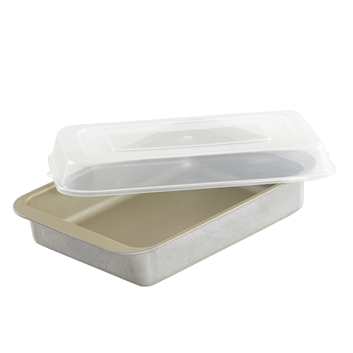 Brownie and Cake Pan with Lid