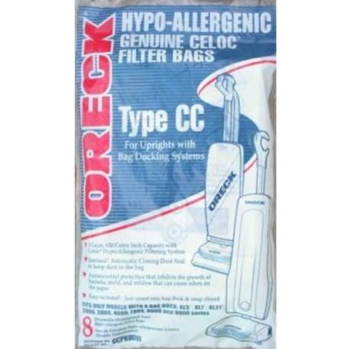 Oreck Type CC Hypo-Allergenic Filter Bags CCPK8DW
