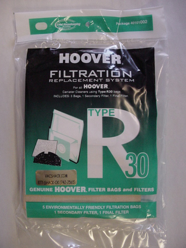 Hoover Type R30 Filtration Replacement System 40101002
