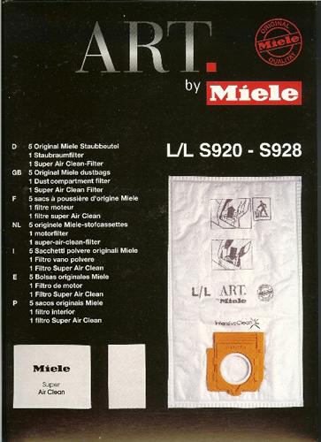 Miele Style L/L Bags for Art 5852650