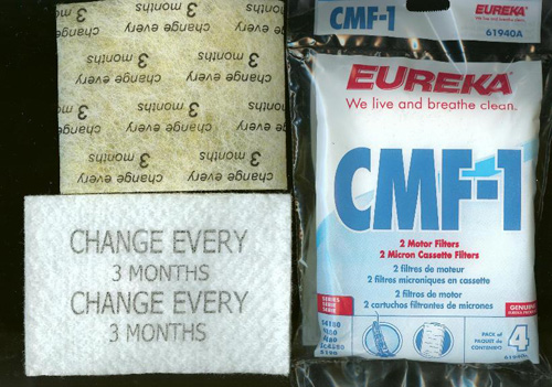 Eureka CMF-1 Motor And Cassette Filters 61940