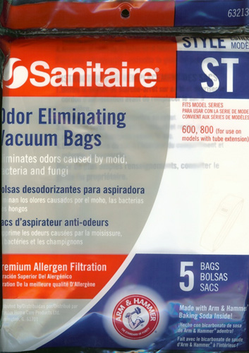 Sanitaire Style ST Odor Eliminating Bags