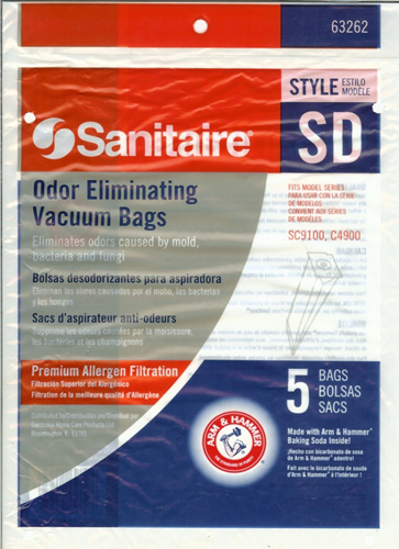 Sanitaire Style SD Odor Eliminating Bags