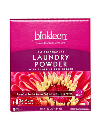 Biokleen Laundry Powder All Temperature 100 Loads