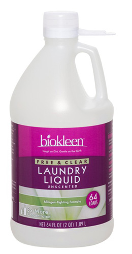 Biokleen Laundry Liquid Free & Clear 64 Loads