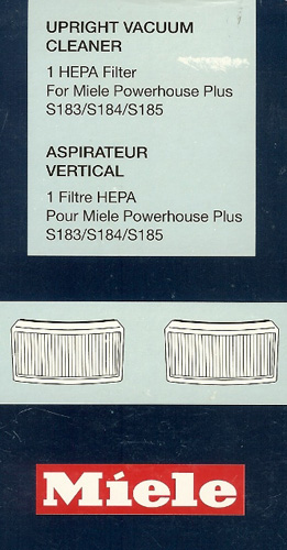 Miele HEPA Filter For Full Size Uprights